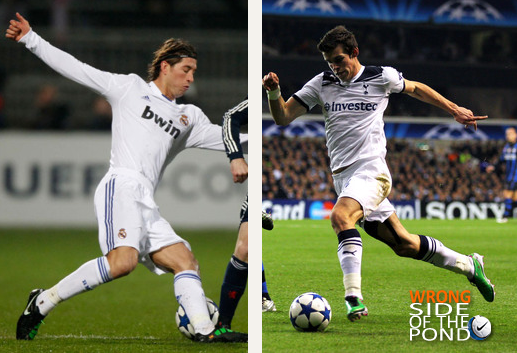 real madrid's sergio ramos will likely take on tottenham's gareth bale.