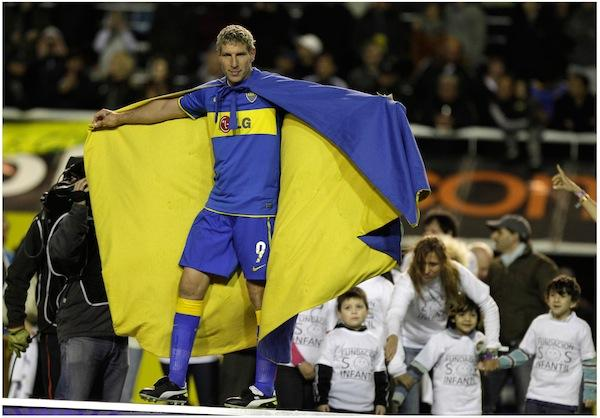 martin palermo of boca juniors