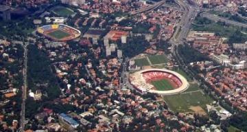 partizan and red star belgrade stadiums