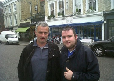 Mourinho Caught Back in London