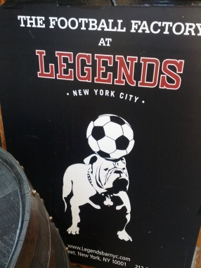 The Football Factory at Legends