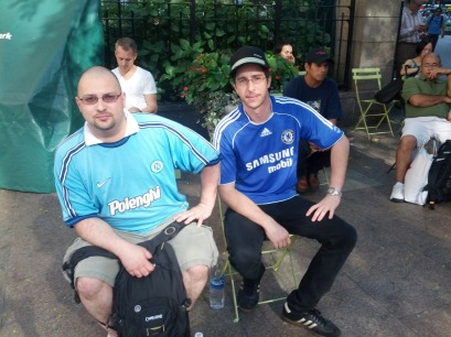 Some NYC Napoli & Chelsea Fans
