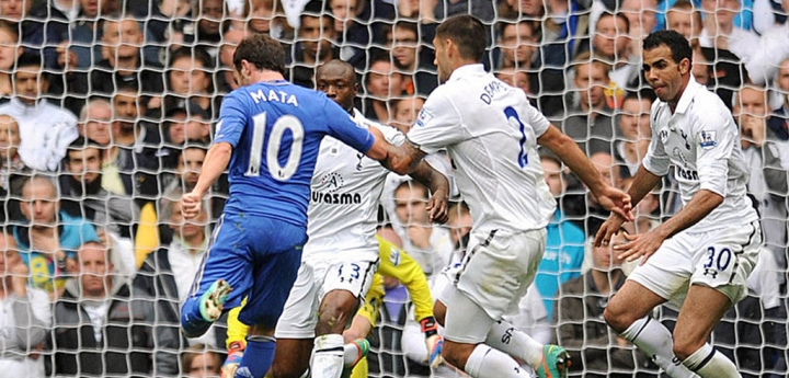 Spurs vs Chelsea 2012, Juan Mata