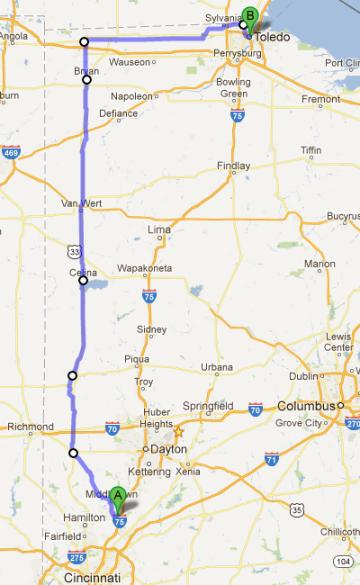 Dribble 4 Toledo Map
