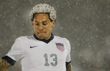 "We hereby christen Jermaine Jones as ""The Snow Fro"""