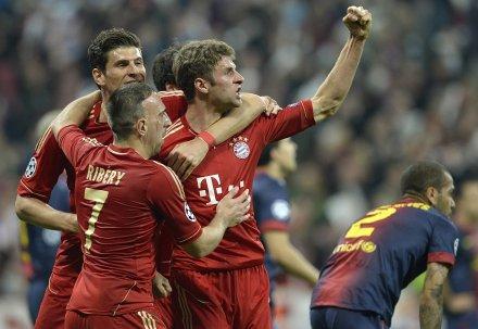 Bayern Overcome Barcelona