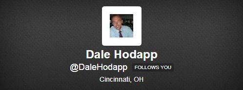 Dale Hodapp on Twitter