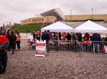 The Section 8 Tailgate as it winds down before kickoff.