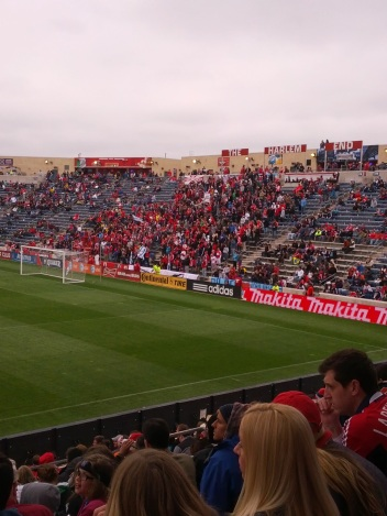 Section 8 fills the Harlem End at Toyota Park