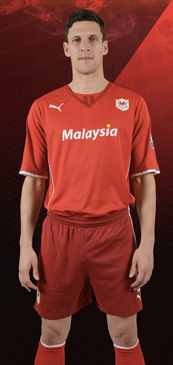 Cardiff City's Two Tone Red Shorts