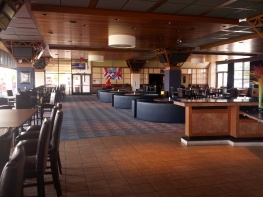 Premium seating will net you access to the River Club which includes an upscale bar and buffet style dining.