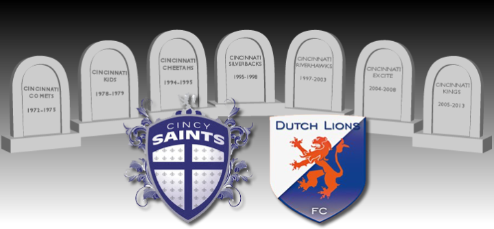 Cincinnati Saints vs Cincinnati Dutch Lions