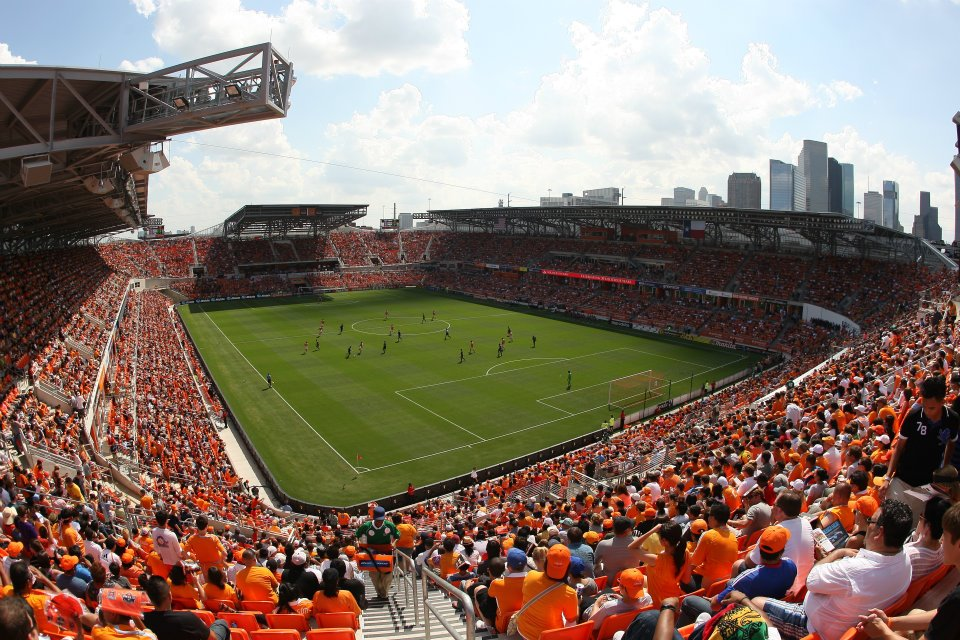 Houston Dynamo's BBVA Compass Stadium