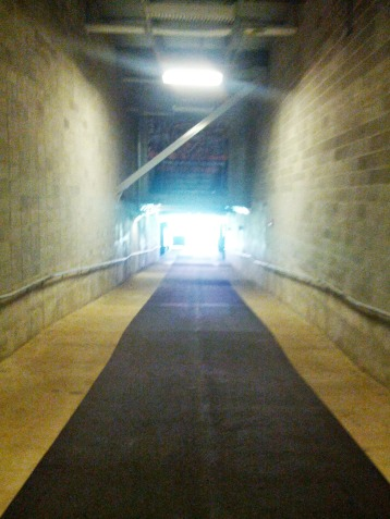 BBVA Compass Stadium Tunnel