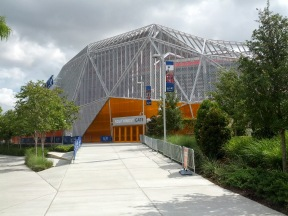 The Outside Skin of BBVA Compass Stadium
