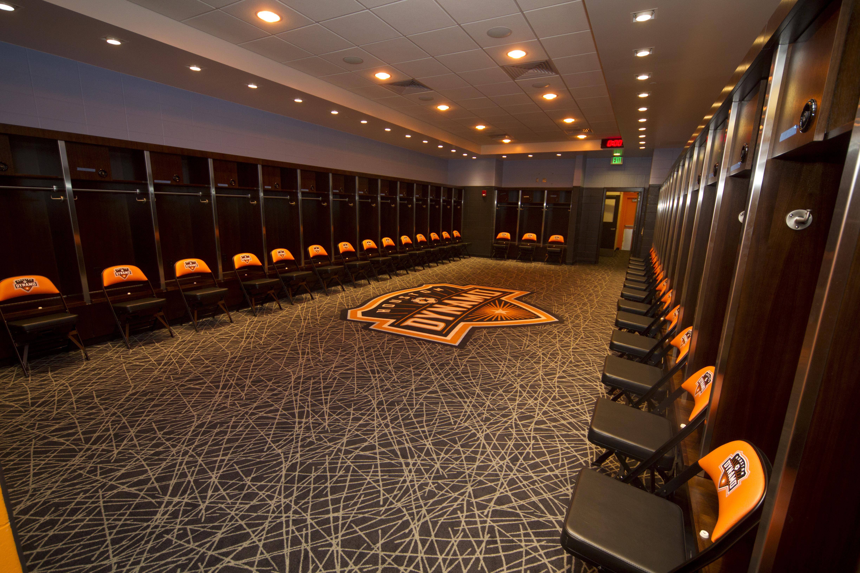 Bbva Compass Stadium Dynamo Locker Room Wrong Side Of