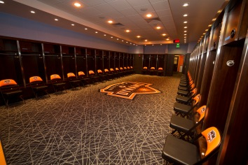 BBVA Compass Stadium Dynamo Locker Room