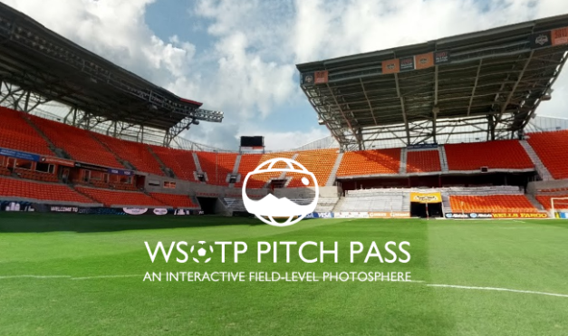 BBVA Compass Stadium Field Panorama Photosphere