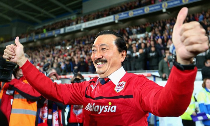 Cardiff City Chairman Vincent Tan