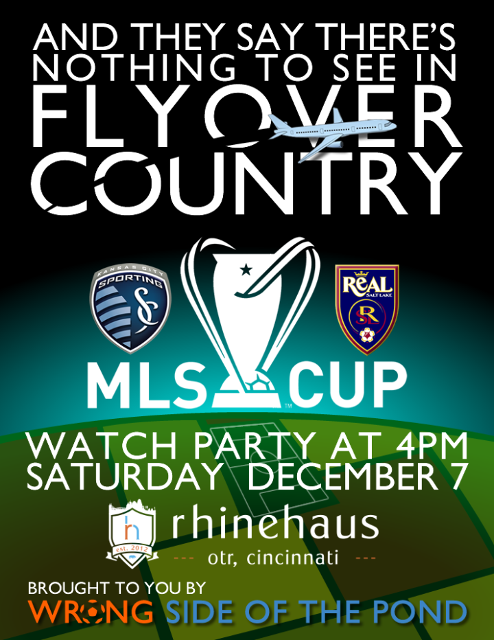 MLS Final 2013 Cincinnati Watch Party