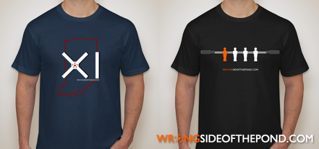 WSOTP Shop Shirts - The Indy and Foosball