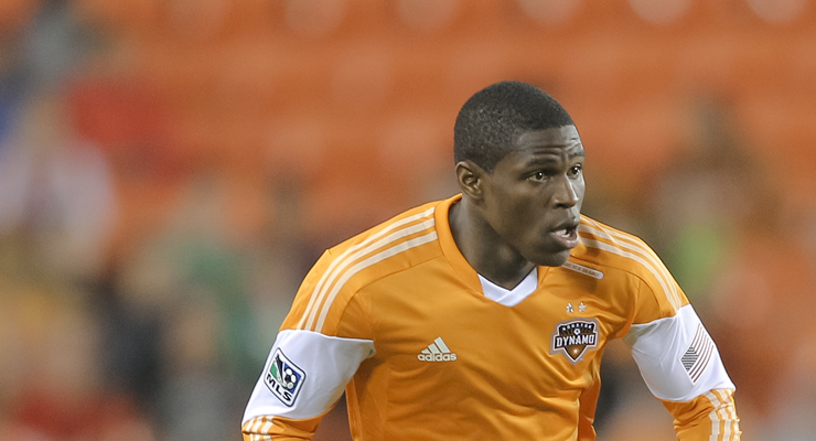 Houston Dynamo defender Kofi Sarkodie