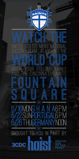 WSOTP - Cincy Saints - Fountain Square Flyer Black