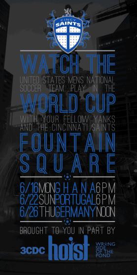 WSOTP - Cincy Saints - Fountain Square Flyer Black