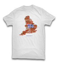 WSOTP Shop England 2014 Shirt