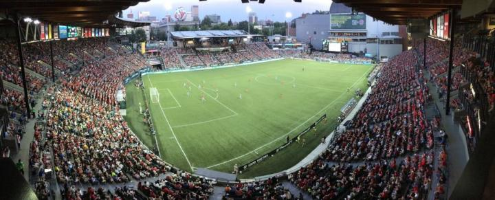 Portland Thorns Crowd