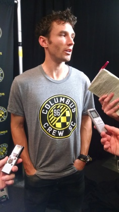Club captain Michael Parkhurst was a fan of the new design.