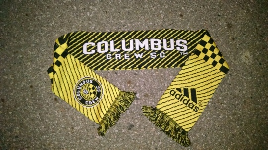 The Crew were also kind enough to hook everyone up with a #NewCrew scarf.
