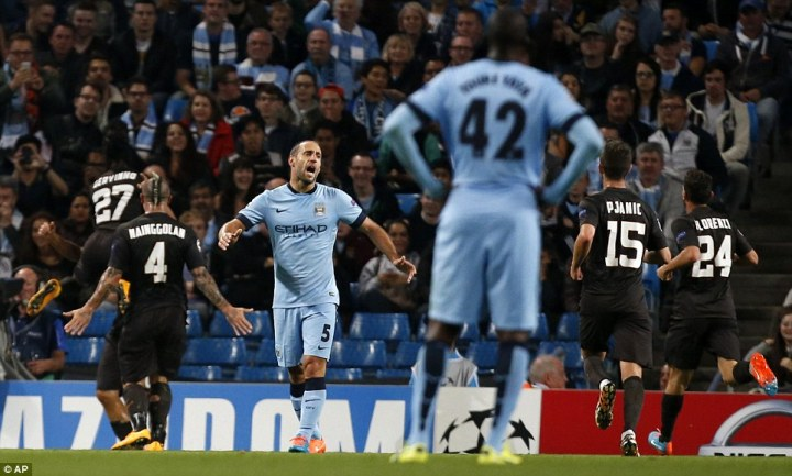 Manchester City European Failures