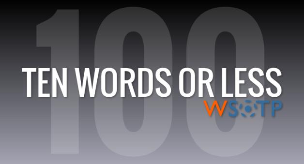 WSOTP - Blog - TWOL 100.fw