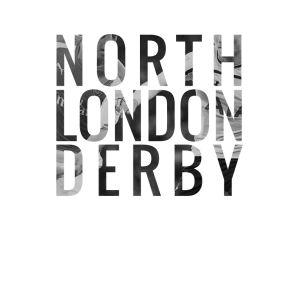 Click to see the full effect of my 2015 Spring North London Derby digital poster.