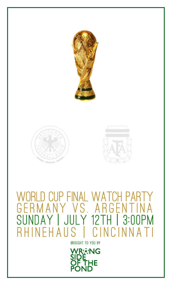 World Cup Final at Rhinehause