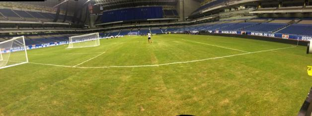 Awful Alamodome Soccer Pitch