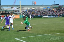 I nearly captured a third Louisville City goal in the second half.