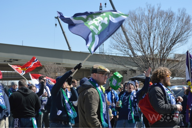 The traveling St. Louigans brought a crowd over 80 to Louisville for the Kings Cup.