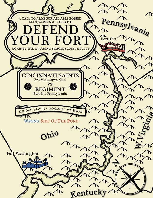 WSOTP - Cincinnati Saints Matchday Poster 2