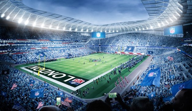 New Tottenham NFL Stadium