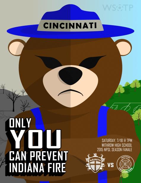 WSOTP - Cincinnati Saints Matchday Poster 6