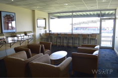 Suites at DSG were on the larger end of the stadium's I've visited thus far, in addition to offering some nice plush seating.