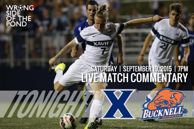 WSOTP - Match Commentary Xavier vs Bucknell 09192015