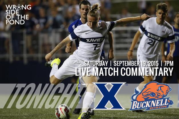 WSOTP - Match Commentary Xavier vs Bucknell 09192015
