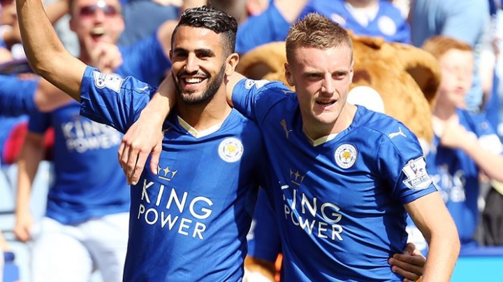 Mahrez and Vardy